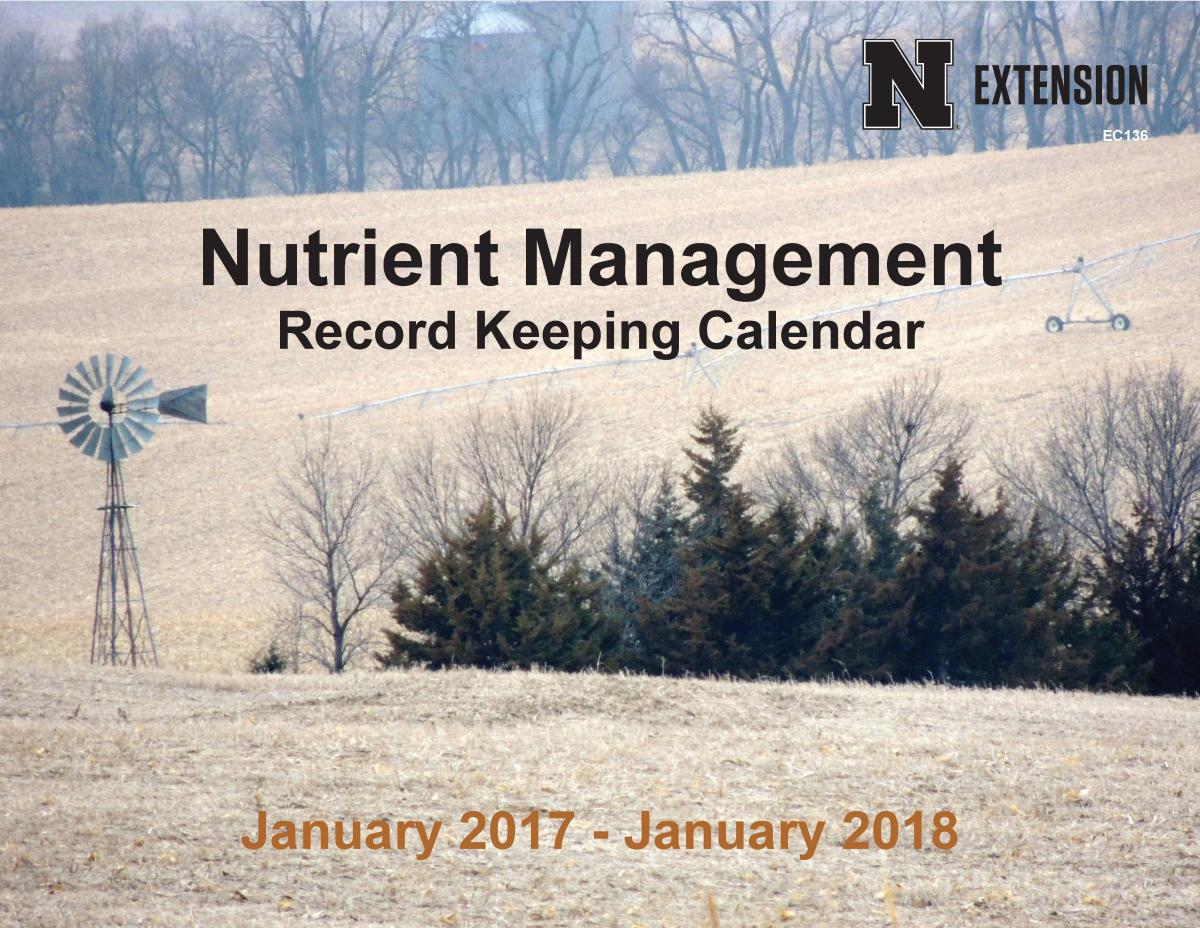 Nutrient Manager Calendar Picture